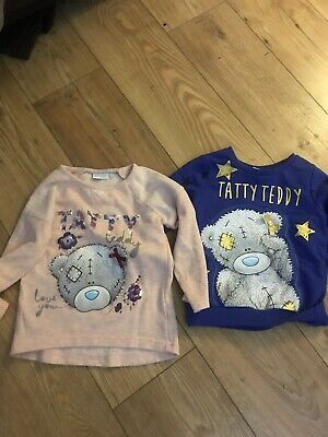 Girls Christmas Jumpers Tatty Ted Age 3-4 Years