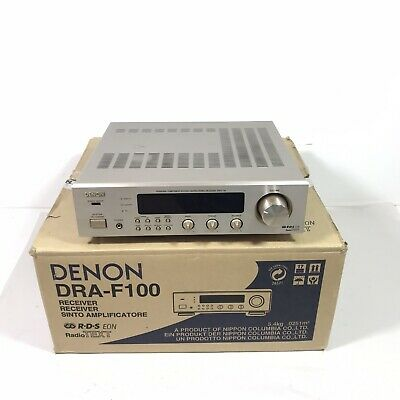 Denon DRA-F100 Stereo Receiver Hi-Fi Separate Amplifier With Phono Input (boxed)
