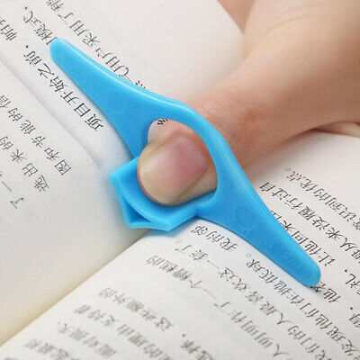 1PC Thumb Multifunction Book Holder Bookmark Finger Ring Markers for Books FF KC