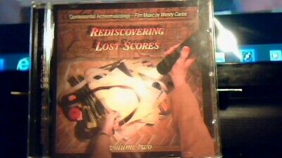 Wendy Carlos Rediscovering Lost Scores Volume Two Near Mint Cd Woundings