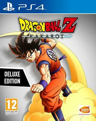 Dragon Ball Z: Kakarot Deluxe Edition Ps4 Nuovo Playstation 4 Dbz Disponibile