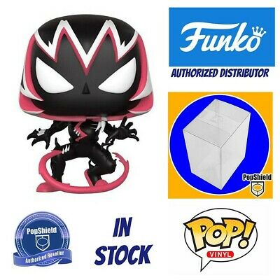 Funko POP Marvel: Marvel Comics - Gwenom w/ PopShield In Stock