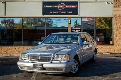 1998 Mercedes-Benz S-Class  Low mile s500 free shipping warranty w140 2 owner clean carfax classic luxury