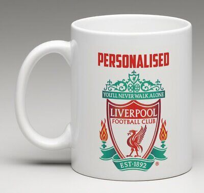 Personalised Liverpool Football Mug • Perfect Gift For Any Fan • YOUR NAME