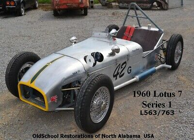 1960 Other Makes Lotus 7  PRICE CUT 1960 LOTUS 7   Series 1  SEVEN  1098cc BMC A engine    Other Makes