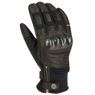 Segura Tony Motorbike Motorcycle Leather Gloves Brown