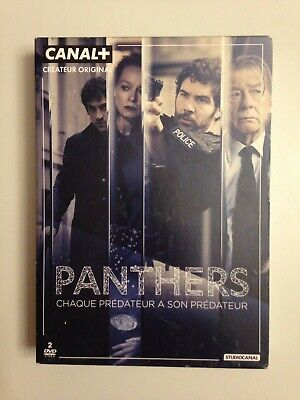 Coffret 2 Dvd Panthers - Serie Tv Studio Canal