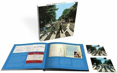 """BEATLES """"ABBEY ROAD 50th Anniversary"""" Deluxe Edition 3CD BD Book Japan New F/S"""
