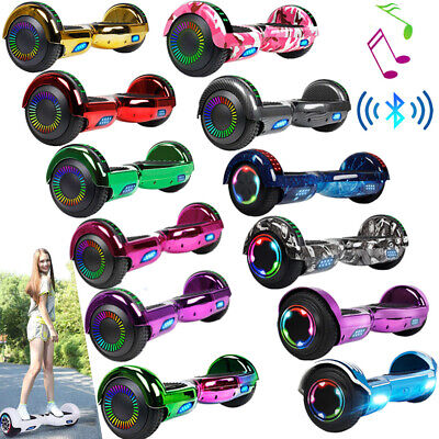 """6.5"""" Hoverboard Bluetooth Electric Balance Scooter with Bag UL2272 Certified"""