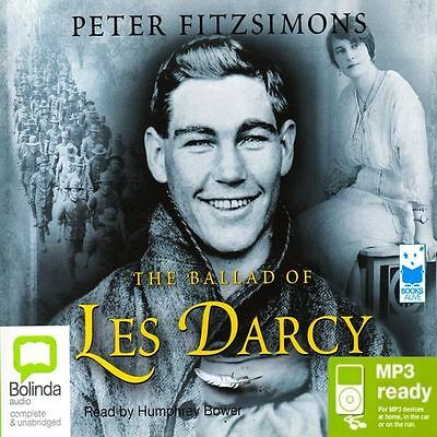 Peter FITZSIMONS / The BALLAD of LES DARCY        [ Audiobook ]