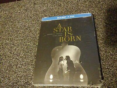 A Star Is Born Steelbook (Blu-ray+DVD) BRAND NEW FACTORY SEALED