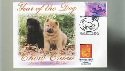 Chow Chow 2006 C/I Year Of The Dog Stamp Cover 12