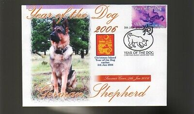 German Shepherd 2006 C/I Year Of The Dog Stamp Cover 4