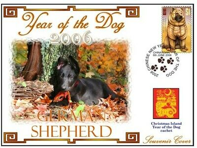 German Shepherd 2006 C/I Year Of The Dog Souv Cover #7