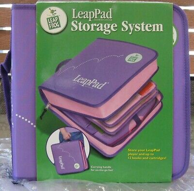 Leap Frog Leappad Storage System Pink/Purple** Brand New **