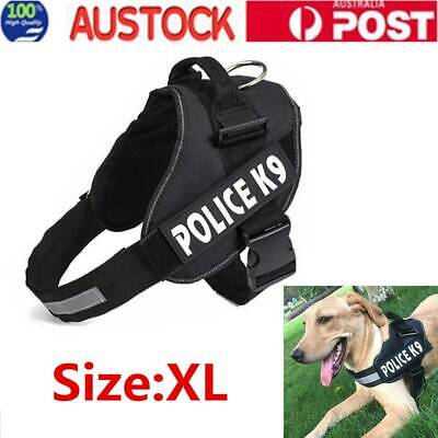 Control Large Dog Pulling Harness Adjustable Support Comfy Pet Training Size XL