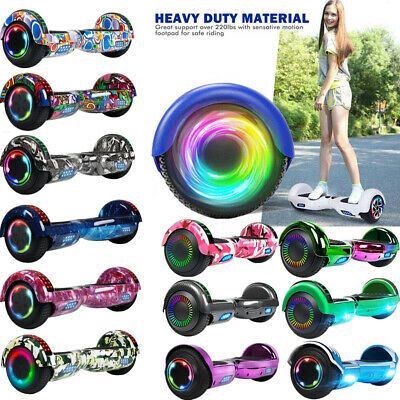 """6.5"""" Bluetooth Hoverboard Self Balance Electric Scooter UL Bag LED Best Gift USA"""