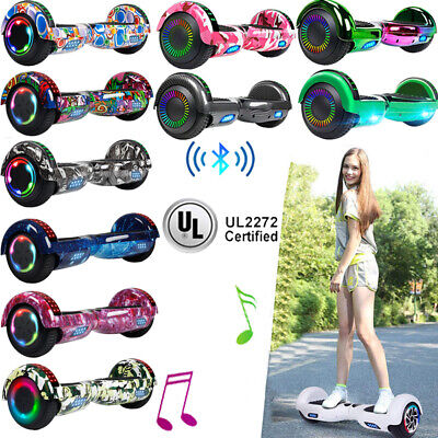 """6.5"""" Hoverboard Bluetooth Electric Self Balance Scooter with Bag Kid Chrismas US"""