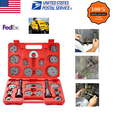22 PCs Heavy Duty Disc Brake Caliper Tool Set and Wind Back Kit for Brake Pad US
