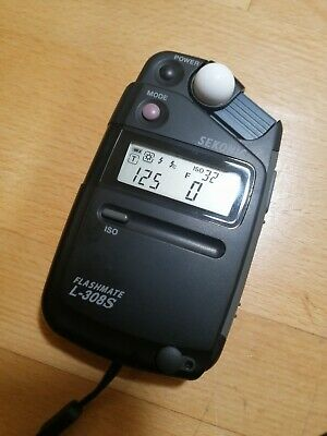 Sekonic Flashmate L 308 S Light Meter. Flash, incident and reflected meter.