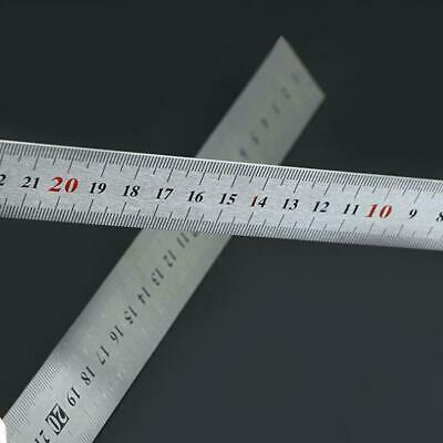 Stainless Steel L-Square Angle Ruler Woodworking Measuring Tools 2019 W1F2