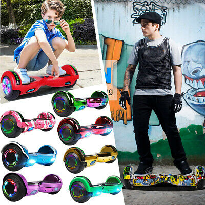 "6.5"" Hoverboard Bluetooth Electric Self Balance Scooter Bag Kid Chrismas Gifts"