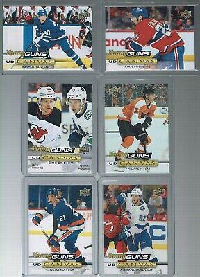 2019-20 Upper Deck CANVAS YOUNG GUNS -Complete your set -Pick the card you want