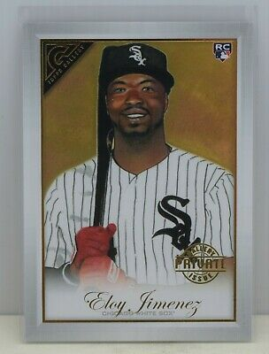 2019 Topps Gallery ~ ELOY JIMENEZ ~ Rookie Card PRIVATE ISSUE PARALLEL RC #/250