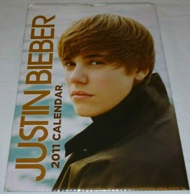 Justin Bieber 2011 Official Calendar *Brand New & Sealed* My World Mega Rare