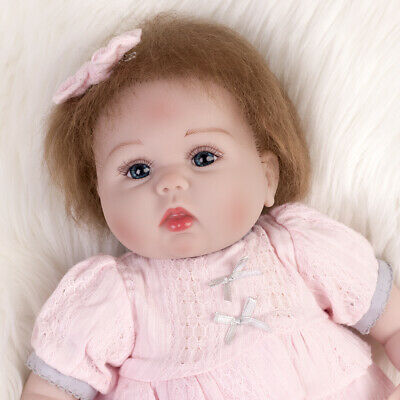 "Realistic Reborn Baby Girl Dolls 22"" Lifelike Newborn Babies Doll Gifts Xmas Toy"
