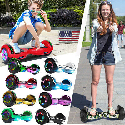 """6.5"""" Hoverboard Bluetooth Two Wheel Toy Electric Self Balance Scooter with Bag"""