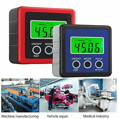 LCD Digital Level Box Protractor Gauge Angle Finder Inclinometer Magnetic Level