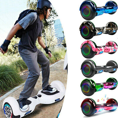 """6.5"""" Hoverboard Bluetooth Wheel Electric Self Balance Scooter w Bag Skateboard"""