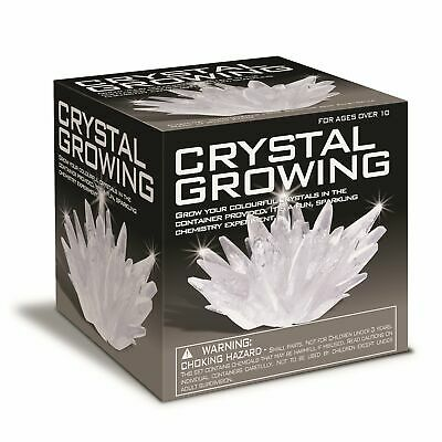 Crystal Growing Kit Fun Sparkling Chemistry Set Science Nature Educational Toy