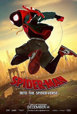 Laminated SPIDERMAN Into the Spider-Verse Art Poster 24x36in (61x91cm)