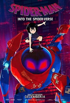 Laminated SpiderMan Into the Spider-Verse PENI Art Poster 24x36in (61x91cm)