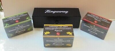 Tanqueray London Dry Gin Wooden Box Case For Tanqueray Tea Tonic
