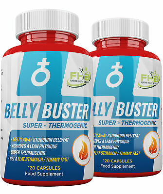 BURN BELLY FAT ! Belly Buster Strong Slimming Tablets - FLAT STOMACH TUMMY FAST