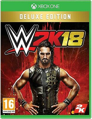 WWE 2K18 -- Deluxe Edition (Microsoft Xbox One, 2017) BRAND NEW & SEALED