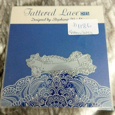 RIBBON SWAG DIE D1186 - Tattered Lace - Retired Design