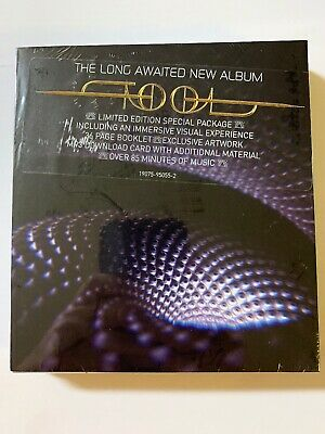 TOOL Fear Inoculum CD 2019 Limited Deluxe Edition New Sealed Free Shipping