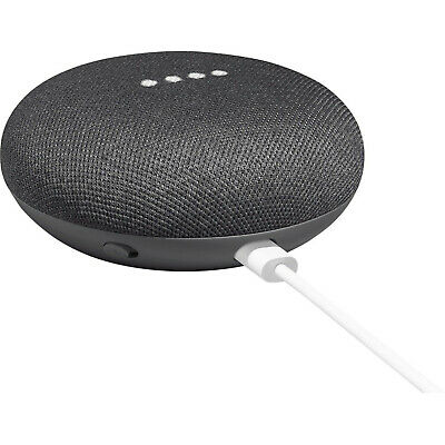 Google Home Mini Wireless Smart Bluetooth Speaker with Google Assistant-Charcoal