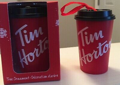 2019 Tim Hortons   Ornament New Style Take Out Cup New In Box