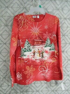 PLUS 3X Top Rhinestone Embellished Christmas Red Top Hat /& Cape Snowman Design