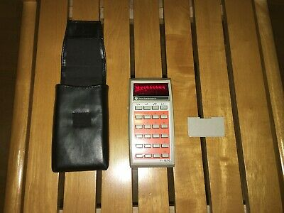 ## calculator Texas Instruments tl-1270 (vintage / working) ##