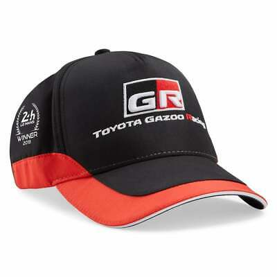 Toyota Gazoo Racing Le Mans Winning Team Cap 2019 Black/Red ADULT