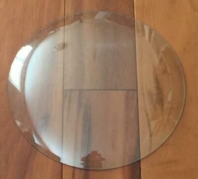"""Pam Thermometer 12"""" Round Replacement Clear Glass Lens Dome"""
