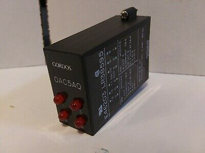Gordos Crouzet OAC5AQ 84112311 I//O Module 4-8VDC In 280VAC 3 Amp 60 Hz Out