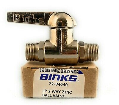 BINKS 73-84040 3-WAY HIGH PRESSURE BALL VALVE 250 PSI DEVILBISS PAINT SPRAYER