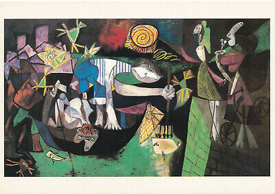 Pablo Picasso NIGHT FISHING AT ANTIBES Estate Signed Limited Edition Giclee Art